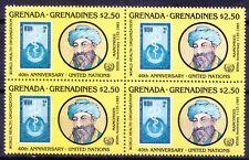 Grenada Grenadines 1985 MNH Blk, Maimonides, Jewish Physician (M7n)