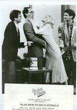 TERI COPLEY TOM VILLARD JOHN HILLNER WE GOT IT MADE ORIGINAL 1982 NBC TV PHOTO