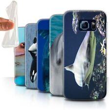Étuis, housses et coques Samsung Galaxy S6 edge en silicone, caoutchouc, gel pour téléphone mobile et assistant personnel (PDA) Samsung