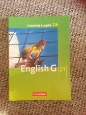 English G 21. Erweiterte Ausgabe D 6. Schülerbuch (Schulbuch) neuwertig