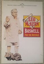 Leo McKern as Boswell for the Defence Program 1990 Festival of Sydney
