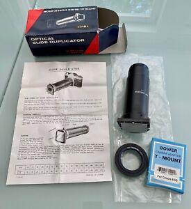 Dia-Duplikator Bower Optical Slide Duplicator for SLR Cameras, F 8 Lens, Adapter