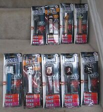 Lot of 9 Star Wars Pez New in Original Packaging NIP