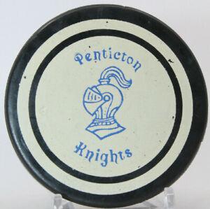 Penticton Knights BCJHL Viceroy Hockey Puck (NNN) with Tim Horton Donuts