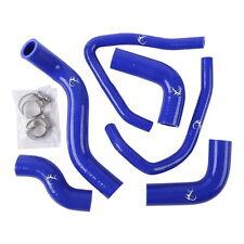 Blue Motorcycle Silicone Radiator Cooling Hose Kit For KAWASAKI Z1000 2003-2006