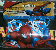 Silly Bandz Spiderman 20 pack Character Bandz MIP