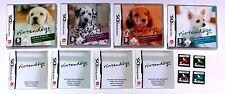 Jeux: Nintendogs Dalmatiens + Basset + Labrador + chihuahua/Nintendo DS