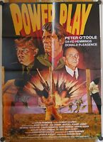 POWER PLAY (Pl. '83) - PETER O'TOOLE / DONALD PLEASENCE / DAVID HEMMINGS