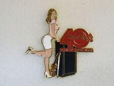 SANTO DOMINGO,Hard Rock Cafe Pin,40th Anniversary Decade Super Sexy Girl