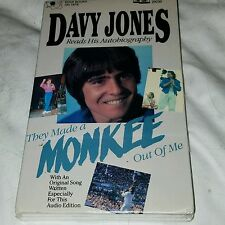 MONKEES Davy Jones, they made a monkee out of me autobiography audio book SEALED