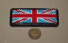 Bandera Británica Reflectante motos coches clásico KIT CASCO rueda pegatina