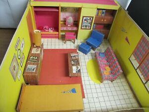 "Vintage 1962 Original Cardboard  Barbie ""DREAM HOUSE"""