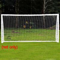 8x24FT Full Size Soccer Goal Net Sports Football Post Neting Training Backyard