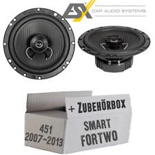 Alpine Front auto altavoces componentes para Smart Fortwo 453 a partir de 14