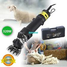320W Electric Shearing Clippers Shears Sheep Goat Alpaca Trimmer Farm EU Plug