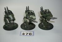 Warhammer 40k Imperial Guard Astra Militarum Scout Sentinels x 3 - LOT 476