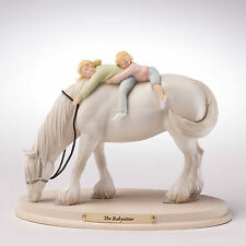 Enesco Horse Whispers The Babysitter Figurine NIB Item #  4028509