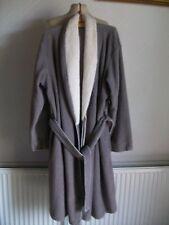 Ladies Fleece Dressing Gown with Tie Belt, Size 16-18, M&S, BNWOT