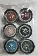 Revlon Colorstay Creme Eyeshadow, 6 colors, Sealed, FREE SHIPPING