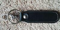 Leather Keyrings Black Key Chains Handmade Car Key Holder Car Key Ring Keychain