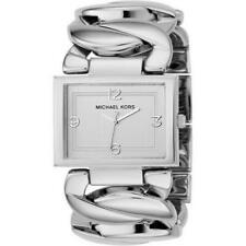 Michael Kors MK3132 36mm Edelstahl Gehäuse Quarz Analog Armbanduhr für Damen - Silber