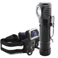 Lumintrail Right Angle Flashlight, Headlamp, Work Light 1050 Lumen LED Light