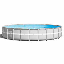 "Intex 26' x 52"" Ultra Frame Above Ground Swimming Pool Set with Pump & Ladder"