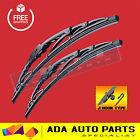 Metal Frame Wiper Blades For Nissan Navara D40 06 - On (PAIR)