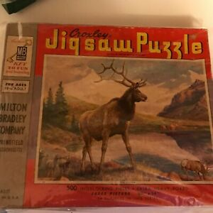 Milton Bradley Croxley 500 pc Puzzle: The Victor  - A