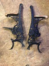 Rare Grand Rapids School Furniture Industrial Steampunk Cast Iron Legs