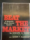 Beat the Market - Edward Thorp ~1967 Printed And Coil Spiral Bound