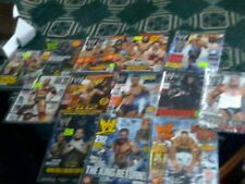 A LOT OF 13 WWE WRESTLING OLD MAGAZINES FROM 2000-2018 FUTURE ERA