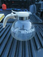 Gemco The Whistler Glass  Pot Coffee Tea