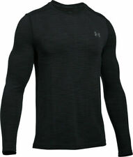 Under Armour Ua Men's Threadborne Seamless Ls Top 1289615 001 Black Nwt Size 2Xl