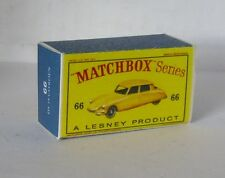 Repro Box Matchbox 1:75 Nr.66 Citroen DS 19