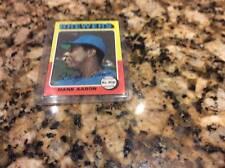 Hank Aaron 1975 Topps Card