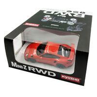 Kyosho Mini-Z RWD Porsche 911 GT3 RS Lavaorange Red Readyset RTR RC Kit #32321OR