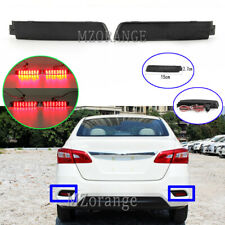 2x LED Rear Bumper Brake Light Lamp For Nissan Murano Juke Quest Sentra Infiniti