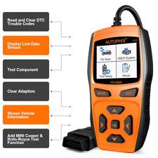 Autophix Fault Code Reader Car OBD2 Engine Check ABS SRS Airbag Diagnostic Tool