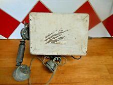 ANCIEN TELEPHONE MURAL A MANIVELLE EN BOIS MODELE 1910 A RESTAURER