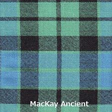 Scarf Clan MacKay Ancient Tartan Ladies Scottish Wool Plaid
