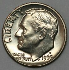 1969 D Roosevelt Dimel in Choice BU Condition US Silver Coin