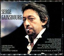 SERGE GAINSBOURG - VERSIONS ORIGINALES - BEST OF 2 CD ALBUM [531]