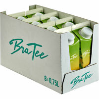 BraTee Zitrone Eistee 0,750 L Packung, 8er Pack (8x0,75 L)