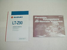 2008 Suzuki LT 90 K8 Factory Owner's Manual W/ Tips and Practice Guide