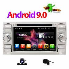 Car Stereo GPS SatNav Android 9.0 System For FORD FOCUS C-MAX KUGA FIESTA BT UK