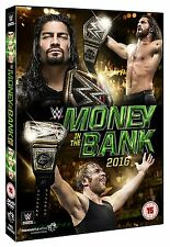 WWE (Wrestling) Money in the Bank 2016 DVD in Inglese NEW .cp