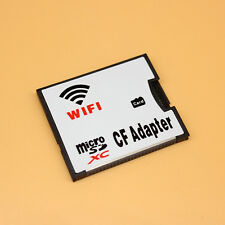 MicroSDXC Card to Wifi Wireless CF Card Type I Adapter, TF to Wifi CompactFlash