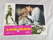 LAWMAN 1971 Burt Lancaster Original Lobby Card 11x14