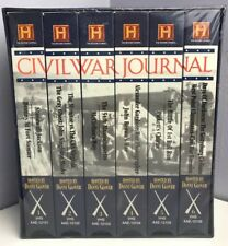 A&E History Channel Civil War Journal 6 VHS Video Tape Box Set New & Sealed Rare